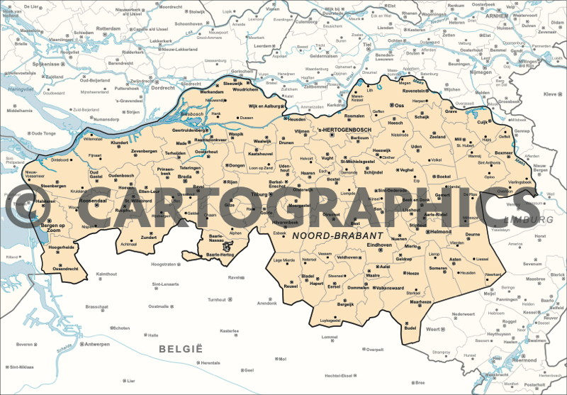 DERLAND-Provincie Noord-Brabant