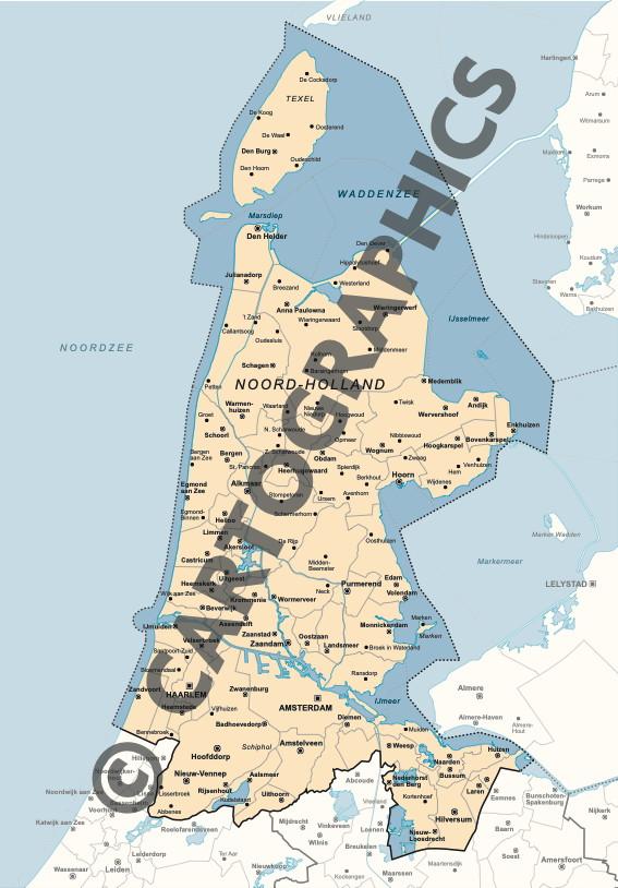 NEDERLAND-Provincie Noord-Holland