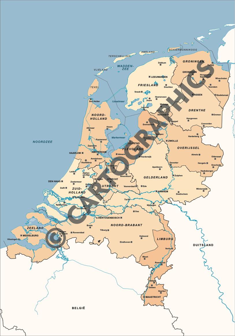 Provinciekaart